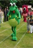 mascot performers, promotional mascots