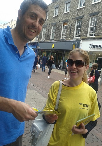 flyering staff leicester