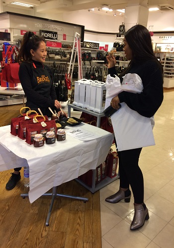 in store sampling staff uk