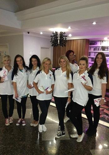 promo girls manchester