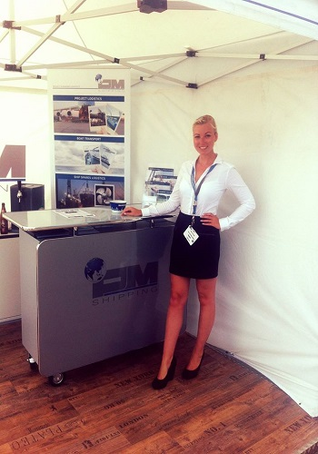 registration hostesses, promo girls southampton boat show