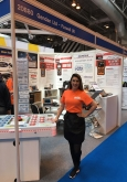 hire exhibition sales staff Olympia London, UK