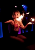 hire a fire performer in london