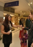 hire temporary shopping centre promotions staff Arndale Manchester