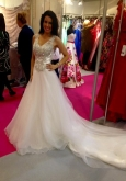 bridal models National Wedding Show