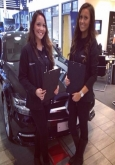 car showroom temporary sales staff