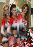hire grid girls for bike shows manchester central