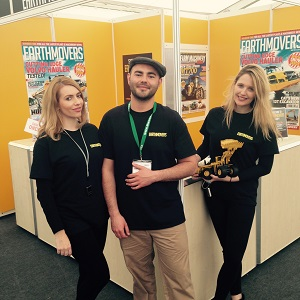 exhibition staff Scotland
