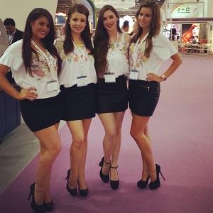 hostesses Southampton boat show
