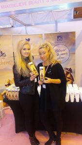 exhibition staff London beauty show