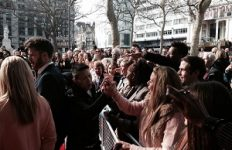 leicester sqaure red carpet