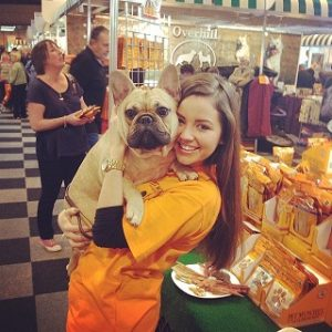 NEC crufts promotional staff