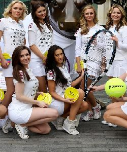 promo staff for hire at Wimbledon