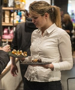 Hospitality staff for hire Good Food Show NEC