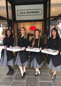temporary promotions styaff for hire at Cheshire Oaks