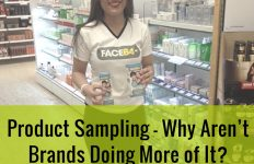 brands should do product sampling