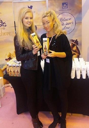 Exhibition girls NEC, Birmingham