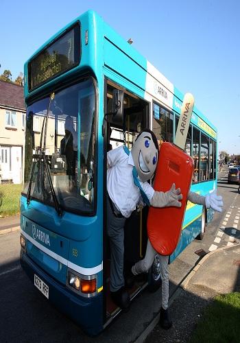 22/10/11 Arriva buses,Bangor,Gwynedd.