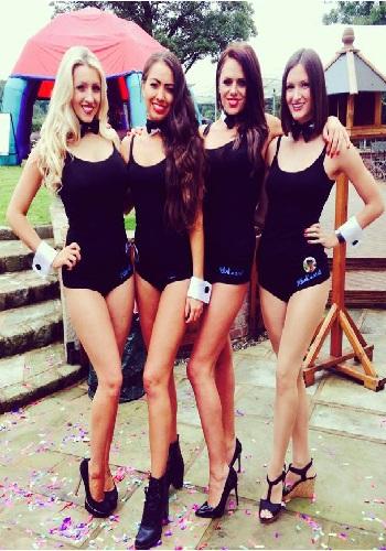 shot girls, drink hostesses manchester
