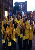 flyer distributing staff leicester