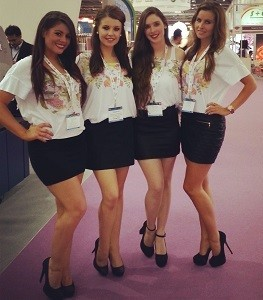 exhibition girls london boat show