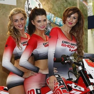 promo girls motorcycle live nec