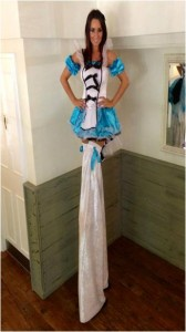 hire a stilt performer