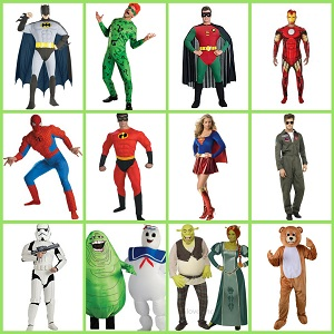 hire a superhero in Rugby, Warwickshire