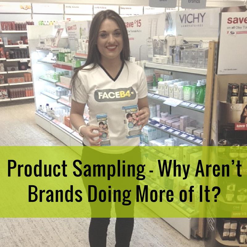 Brands Should Do Product Sampling