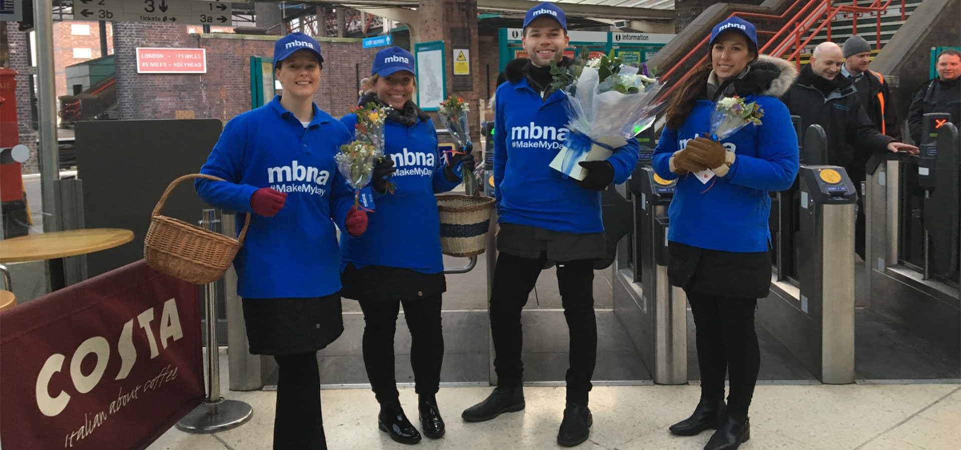 MBNA Promotional event
