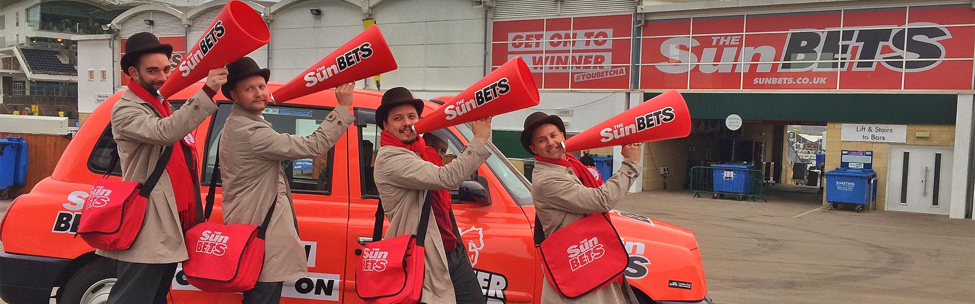 UK wide brand ambassadors