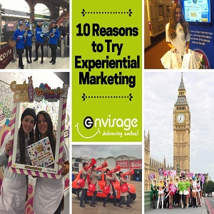 10 Reasons To Try Experiential Marketing